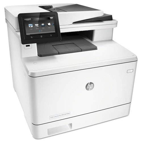 HP Laserjet Pro M477fdw Multifunction Wireless Color Laser Printer with Duplex Printing (CF379A) (Certified Refurbished)
