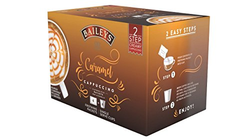 Bailey's Cappuccino Single Serve Cups for Keurig K-Cup Brewers, Caramel, 36 Count ()