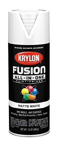 Krylon K02764007 Fusion All-in-One Spray Paint, White