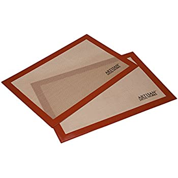 Amazon Com Artisan Silicone Baking Mat For Half Size