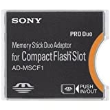 Sony Memory Stick Adapter to CompactFlash AD-MSCF1