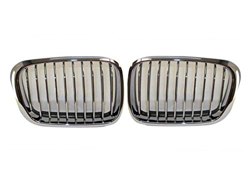 Bmw 325 Series (1999 2000 2001 Bmw 3 Series 323 325 328 Sedan/wagon Grille Chrome Pair)