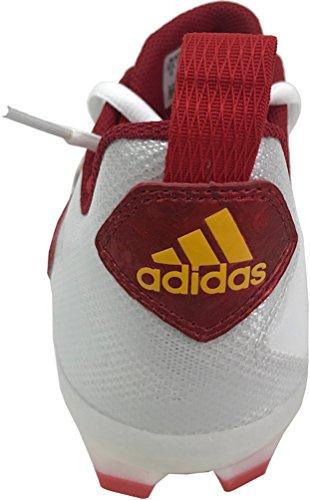 Tacchetti Da Calcio Adidas Mens Crazyquick 2.0 (12 D (m) Us, Ftwwht / Powred / Golsld)