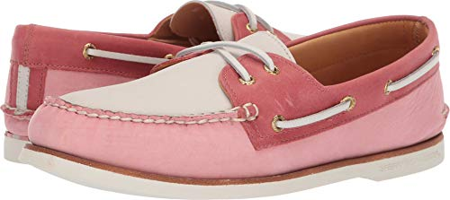 SPERRY Men's Gold A/O 2-Eye Pastel Nantucket Red 11 M US