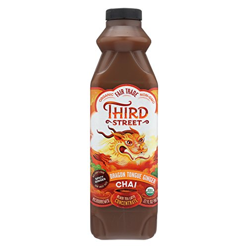Third ST Chai - Dragon Tongue Ginger - Case of 6 - 32 Fl oz. by Third St
