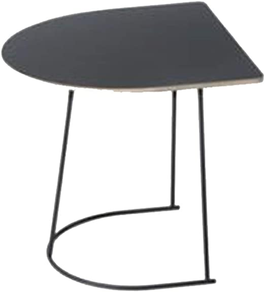 YNN Table Mesa Auxiliar de sofá Mesa Auxiliar semicircular de ...