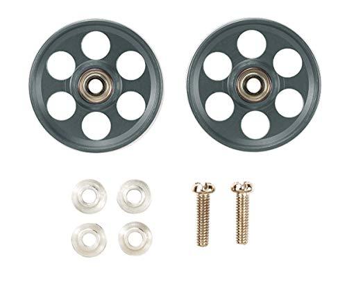 Tamiya Special Mini Four Wheel Drive Commodity Lightweight 19mm All-Aluminum Bearing Roller Gunmetal 95454