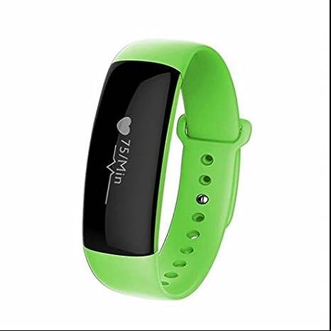 Monitor de frecuencia cardíaca Wireless – Rastreador de fitness deporte pulsera, frecuencia cardíaca, tensiómetro