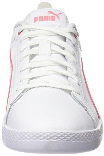 Donna V2 Ginnastica Da White Bianco Puma puma Basse L Pink Smash shell Wns Scarpe qBBw8EY