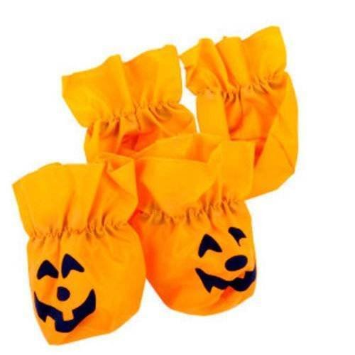 NEW 4 Top Paw Halloween Pumpkin disposible Booties Large or small PETS DOG (large) -