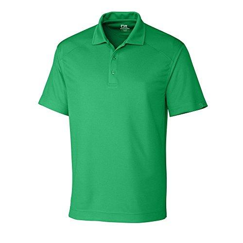 Cutter & Buck MCK00291 Men's DryTec Genre Polo Shirt, Kelly Green - XL