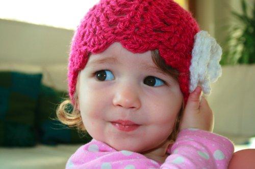 Crochet Baby Beanie Pattern - 8