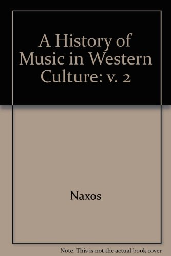 Recorded Anthology CD Set to accompany History of Music in Western Culture, Volume II