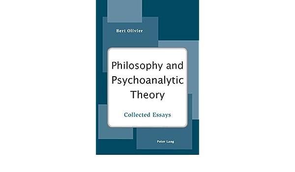 com philosophy and psychoanalytic theory collected essays com philosophy and psychoanalytic theory collected essays 9783039119011 bert olivier books