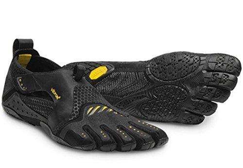 Vibram FiveFingers Men's Signa Barefoot Shoes & Pemium Toesock Bundle Black / Yellow best prices online outlet locations cheap online discount great deals cheap sale best wholesale AwbncP