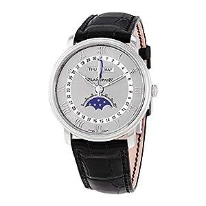 Best Epic Trends 41MTZ20XzqL._SS300_ Blancpain Villeret Automatic Grey Dial Men's Watch 6654-1113-55B