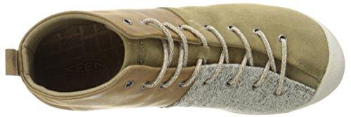 KeenSchnürer East Side Bootie - zapatos con cordones Mujer PALE OLIVE / GARGOYLE