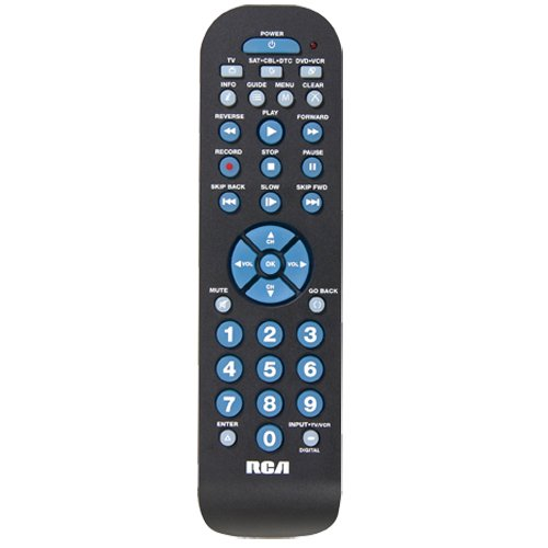 RCA RCR3273E Three-Device Universal Remote