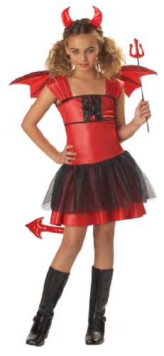 California Costumes Toys Devil Darling, (Cute Devils Costume)