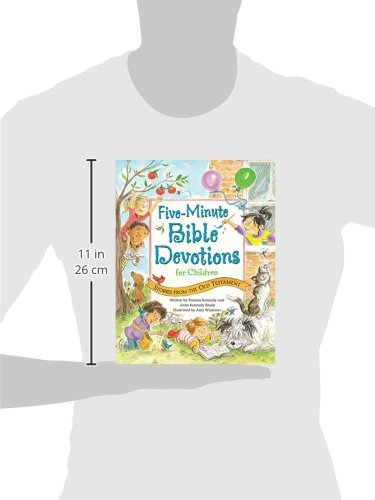 Five-Minute Bible Devotions for Children: Stories from the Old Testament by Ideals Children's Books (Image #2)