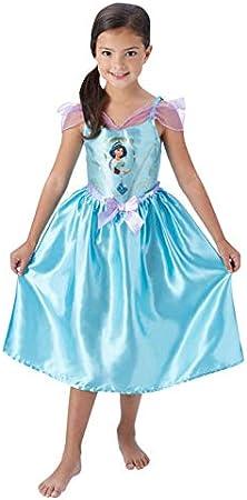 Rubies Disfraz de Jasmine Deluxe para niña - Aladdin: Amazon.es ...