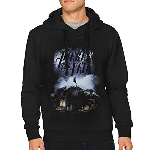 Man's Pierce The Veil Collide with The Sky Classic Music Band Long Sleeves Hoodie Sweatshirt S Gift Black