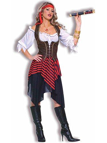 Forum Novelties Sweet Buccaneer Pirate Costume for Women White