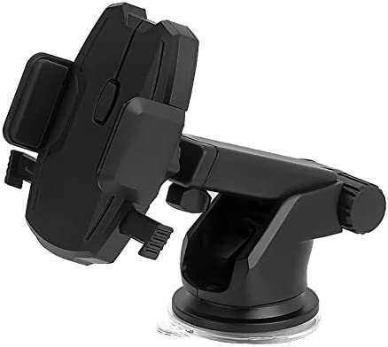自動車電話ホルダー、吸盤ホルダー、多機能ナビゲーションブラケット (Color : Black)