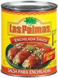 Las Palmas Hot Enchilada Sauce, 28 oz