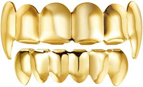 Single Tooth Teeth Trendy Rapper Rock Hip Hop Mold Caps Top /& Bottom BodODDE