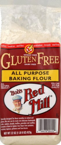 Gluten Free All Purpose Flour by Bob's Red Mill, 22 oz (2 Pack)