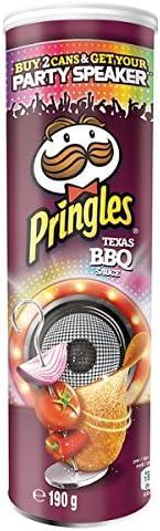 Pringles Tejas 190g Salsa BBQ (Pack de 6 x 190g): Amazon.es ...