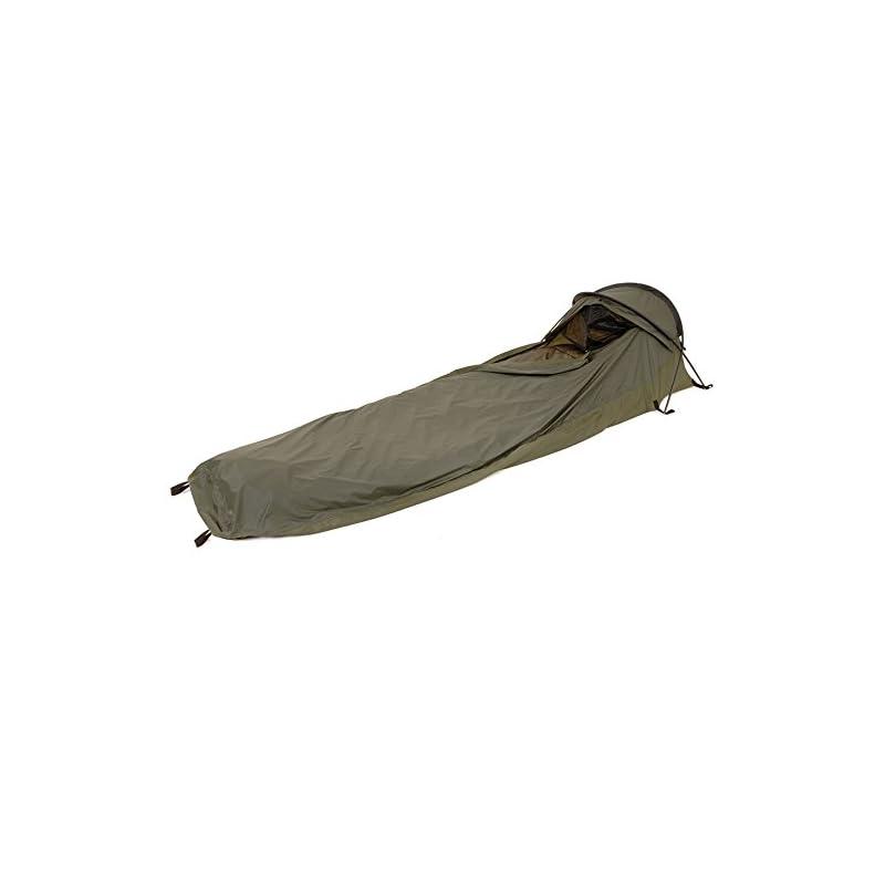 Snugpak | Stratosphere | Lightweight 1 Person Waterproof Bivvi Shelter with a Single Skin Design (Olive)