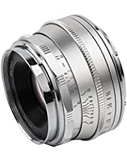 $68 » Pergear 25mm F1.8 Manual Focus Fixed Lens for Fujifilm Fuji Cameras X-A1 X-A10 X-A2 X-A3 A-at X-M1 XM2 X-T1 X-T3 X-T10 X-T2 X-T20 X-T30 X-Pro1 X-Pro2 X-E1 X-E2 E-E2s X-E3