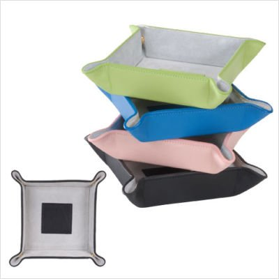 Royce Leather Suede Lined Leather Catchall (920-KLGGS-5) ()