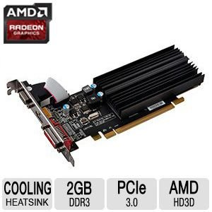 XFX Radeon R5 230 2GB Graphics Card -  LYSB00JAKLOGU-CMPTRACCS