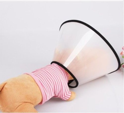 Popular E- Collar Elizabethan Dog Cat Pet Wound Healing Cone