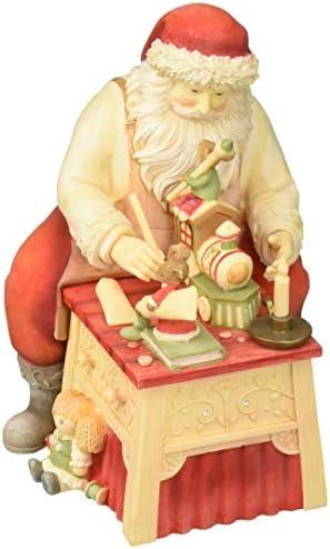 Enesco Christmas Finishing Figurine Multicolor