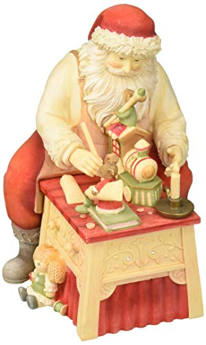 Enesco Heart of Christmas Finishing Touches Mice Brushes Figurine, 7.48 , Multicolor