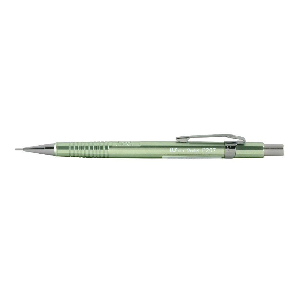 Pentel P207 Sharp - Lápiz de madera de haya (0,7 mm,...