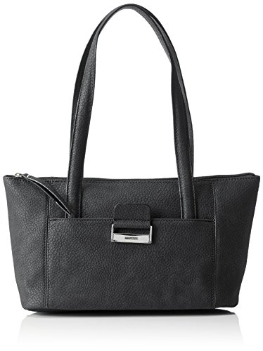GERRY WEBER Talk Different II, Sacs Baguette Femme Gris (Dark Grey 802)