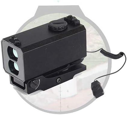 BYBYC Mini Cadena del Monte Buscador telémetro en Rifle de Caza al Aire Libre Distancia de Disparo Velocidad Medidor 700M en Tiempo Real