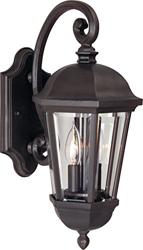 Craftmade Z3004-OBO Britannia Outdoor Wall Mount Sconce Lighting, 2-Light, 120 Watts, Oiled Bronze (8