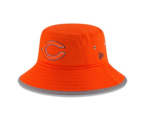 Training Camp Bears - New Era NFL Chicago Bears 2016 Training Camp Reverse Team Color Bucket, One Size, Orange