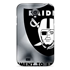 Durable Cell-phone Hard Covers For Samsung Galaxy S4 (wmf4642tVJP) Support Personal Customs High-definition Oakland Raiders Skin