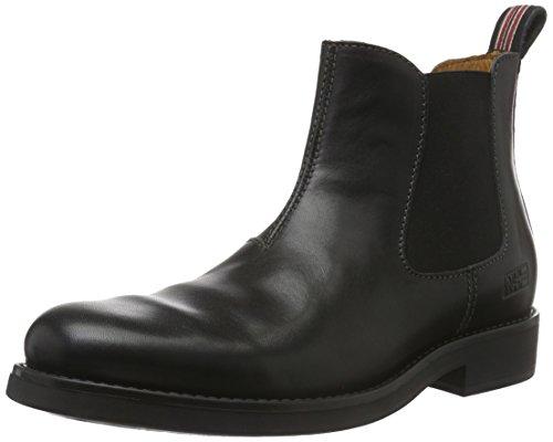 Napapijri Alvin, Zapatillas de Estar por Casa para Hombre Negro - Schwarz (black N00)