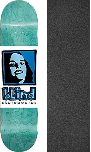 ロードされた回復する賄賂Blind Skateboards 女の子 ティール スケートボードデッキ - Jessupグリップテープ付き - 2点セット