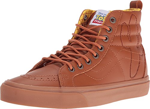 427aac0e4c ... Galleon - VANS SK8-Hi Reissue PT Disney-Pixar Toy Story Leather Woody  Sneaker ...