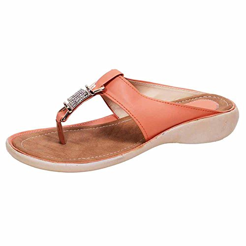 Stunner Womens Orage Color Sandal-UK7