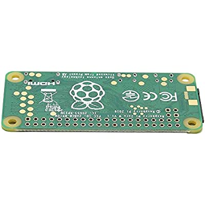 ZhanPing Raspberry Zero 1GHz Single-Core CPU 512MB RAM Support Wireless LAN and bluetooth Arduino compatible